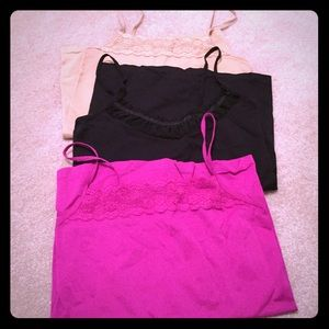 Set of 3 The Limited Camis size Medium